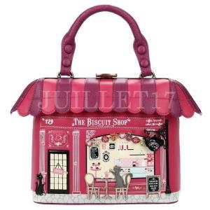 ベンデューラ バッグ ハンドバッグ ショルダーバッグ レディース ブランド 2way ビスケットショップ Vendula Biscuit Shop Grab Bag Cherry|juillet17