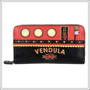 ベンデューラ 財布 ロンドン 長財布 ブランド ラウンドファスナー レディース  ラブボート Vendula LoveBoat Zip Around Wallet|juillet17