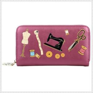 ベンデューラ 財布 ロンドン 長財布 ブランド ラウンドファスナー レディース  ソーイングボックス Vendula Sewing Box Zip Around Wallet|juillet17