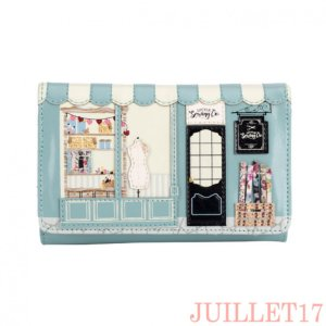 ベンデューラ 財布 ロンドン 長財布 レディース 大容量 ソーイングショップ Vendula Sewing Shop Medium Fit-All Wallet|juillet17