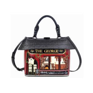 ベンデューラ バッグ ハンドバッグ ショルダーバッグ レディース ブランド 2way オールドイングランドパブ Vendula The George Grab Bag|juillet17