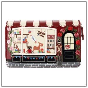 ベンデューラ 財布 ロンドン 長財布 ブランド ラウンドファスナー レディース トイショップ Vendula Toy Shop Medium Ziparound Wallet|juillet17