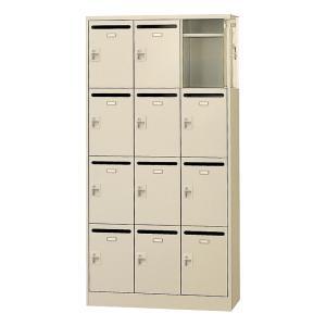 12人用 メールボックス 3列4段 W900 収納庫 郵便受け【完成品】|juke-store