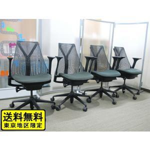 ハーマンミラー Herman Miller セイルチェア SAYL Chairs オフィスチェア デスクチェア メッシュチェア 肘付き【中古】|juke-store