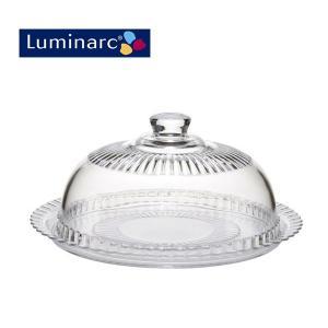 フランスLuminarc(リュミナルク)製ケーキドームフロマージュ270。 フタ(ドーム):直径27...