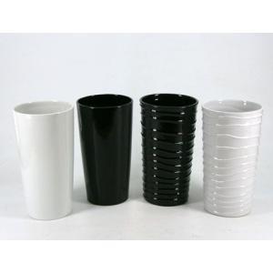 10.5cmLセミロング陶器の鉢 観葉植物/ハイドロカルチャー/水耕栽培/インテリアグリーン|julli