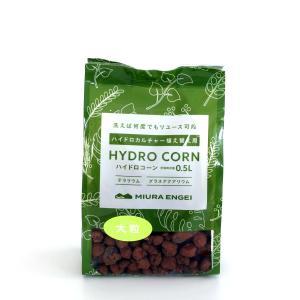 ハイドロコーン 大粒 0.5L 観葉植物/ハイドロカルチャー/水耕栽培/インテリアグリーン|julli