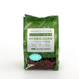 ハイドロコーン 中粒 0.5L 観葉植物/ハイドロカルチャー/水耕栽培/インテリアグリーン