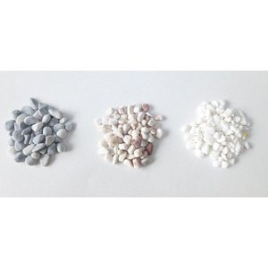 色砂利 360g 観葉植物/ハイドロカルチャー/水耕栽培/インテリアグリーン|julli