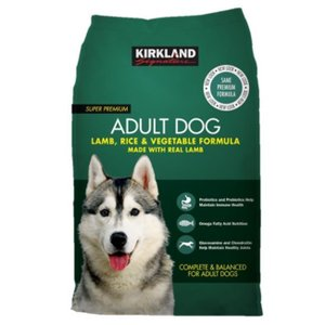 カークランド スーパープレミアムドッグフード 成犬用 18.14kg ラム・ライス・ベジタブルの画像