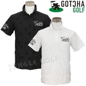 パイル地のジャガードが浮かび上がる総柄デザインポロシャツ。  ジャカード柄はフィッシュマンやパームツ...