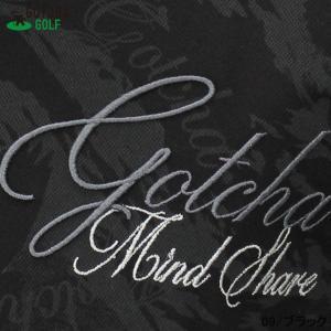 GOTCHA GOLF(ガッチャゴルフ)3D 刺繍 カモフラ イーグル 総柄 メッシュ ポロ (192GG1201) jungle-golf 13