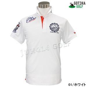 GOTCHA GOLF(ガッチャゴルフ)ドライ UVカット カレッジ ベーシック ポロ 5 (192GG1204)|jungle-golf|02
