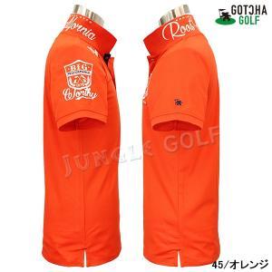 GOTCHA GOLF(ガッチャゴルフ)ドライ UVカット カレッジ ベーシック ポロ 5 (192GG1204)|jungle-golf|11
