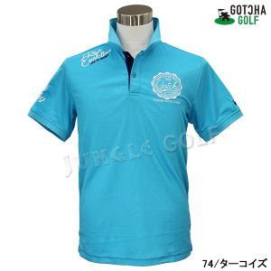 GOTCHA GOLF(ガッチャゴルフ)ドライ UVカット カレッジ ベーシック ポロ 5 (192GG1204)|jungle-golf|12