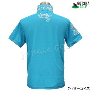 GOTCHA GOLF(ガッチャゴルフ)ドライ UVカット カレッジ ベーシック ポロ 5 (192GG1204)|jungle-golf|13