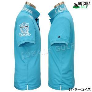 GOTCHA GOLF(ガッチャゴルフ)ドライ UVカット カレッジ ベーシック ポロ 5 (192GG1204)|jungle-golf|14