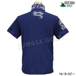 GOTCHA GOLF(ガッチャゴルフ)ドライ UVカット カレッジ ベーシック ポロ 5 (192GG1204)|jungle-golf|16