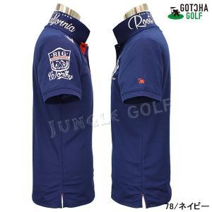 GOTCHA GOLF(ガッチャゴルフ)ドライ UVカット カレッジ ベーシック ポロ 5 (192GG1204)|jungle-golf|17