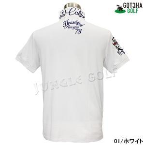 GOTCHA GOLF(ガッチャゴルフ)ドライ UVカット カレッジ ベーシック ポロ 5 (192GG1204)|jungle-golf|03