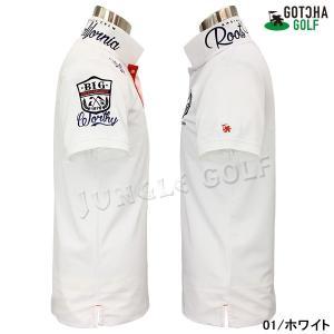 GOTCHA GOLF(ガッチャゴルフ)ドライ UVカット カレッジ ベーシック ポロ 5 (192GG1204)|jungle-golf|04