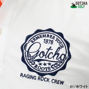 GOTCHA GOLF(ガッチャゴルフ)ドライ UVカット カレッジ ベーシック ポロ 5 (192GG1204)|jungle-golf|05