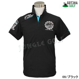 GOTCHA GOLF(ガッチャゴルフ)ドライ UVカット カレッジ ベーシック ポロ 5 (192GG1204)|jungle-golf|06