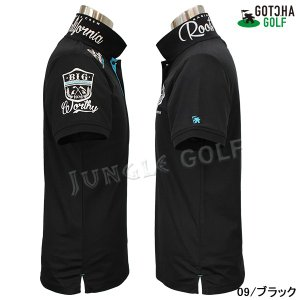 GOTCHA GOLF(ガッチャゴルフ)ドライ UVカット カレッジ ベーシック ポロ 5 (192GG1204)|jungle-golf|08