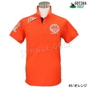 GOTCHA GOLF(ガッチャゴルフ)ドライ UVカット カレッジ ベーシック ポロ 5 (192GG1204)|jungle-golf|09