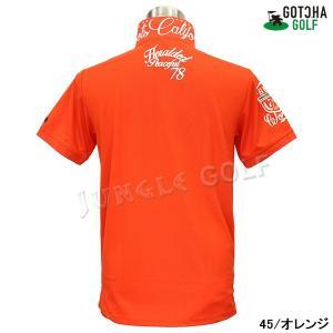 GOTCHA GOLF(ガッチャゴルフ)ドライ UVカット カレッジ ベーシック ポロ 5 (192GG1204)|jungle-golf|10
