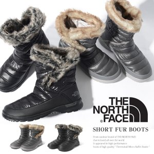 THE NORTH FACE スノーブーツ ノースフェイス ウィンターブーツ Women's ThermoBall ファー 軽量 防寒 防水|jungle-jungle