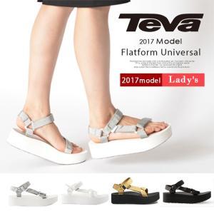 ■商品名 TEVA テバ レディース サンダル 《 FLATFORM UNIVERSAL 》  人気...