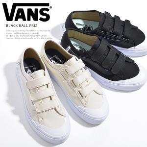 Vans スニーカー レディース BLACK BALL PRIZ ヴァンズ バンズ ブラックボール プライズ ベルクロ|jungle-jungle