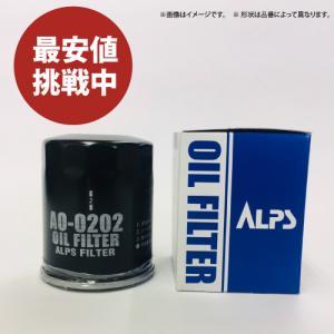 オイルフィルター アルプス工業 オイルエレメント いすゞ AO-383 純正品番 8-9836463...