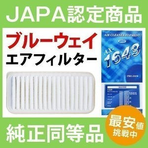 エアーフィルター ホンダ N BOX エヌボックス BlueWay AX-5686V エアーエレメン...