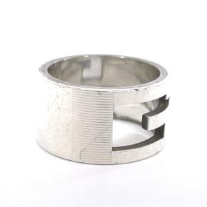 グッチ GUCCI Gリング 指輪 ロゴ シルバー SV925 約17号【中古】[ic]|junglejungle
