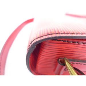 ルイヴィトン LOUIS VUITTON ショルダーバッグ ミニサンクルー M52217 エピ カスティリアンレッド【中古】[iw]|junglejungle|03