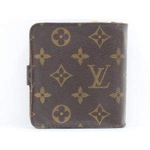 【中古】ルイヴィトン コンパクトジップ 二つ折り財布 モノグラム M61667|junglejungle|03