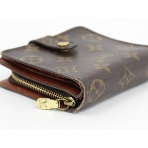 【中古】ルイヴィトン コンパクトジップ 二つ折り財布 モノグラム M61667|junglejungle|04
