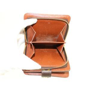 【中古】ルイヴィトン コンパクトジップ 二つ折り財布 モノグラム M61667|junglejungle|05