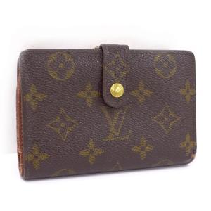 【中古】 ルイヴィトン 二つ折り財布 がま口 ポルトモネ ビエ ヴィエノワ モノグラム M61663 junglejungle