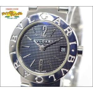 ブルガリブルガリ BVLGARI BB23SS/BB23BSSD クオーツ SS ブラック(黒)文字盤中古|junglejungle