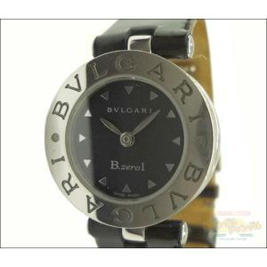 ブルガリ BVLGARI レディース腕時計 B-zero1 ビーゼロワン SS クオーツ エナメルベルト ブラック文字盤|junglejungle