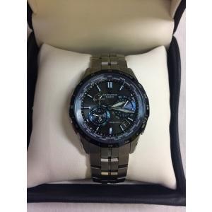 【中古】CASIO OCEANUS カシオ オシアナス メンズ 腕時計マンタ ブラック SS OCW-S1400-1AJF ソーラー電波時計[fu][jggW]|junglejungle