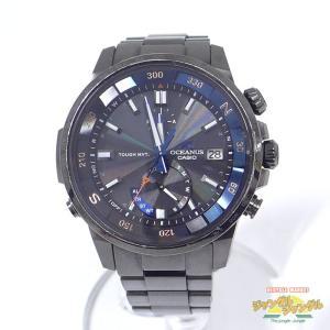 【中古】カシオ オシアナス OCW-P1000B-1A チタン 腕時計 電波 ソーラー[ic]|junglejungle