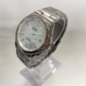 【中古】シチズン アテッサ メンズ 腕時計 エコドライブ シルバー ステンレス GN-4W-S[jggW]|junglejungle