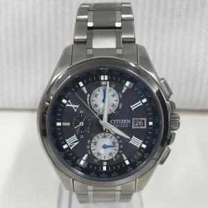 【中古】シチズン エクシードエコドライブ 腕時計 メンズ AT8075-52E[jggW]|junglejungle