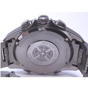 【中古】セイコー アストロン クロノグラフ GPSソーラー チタン 黒文字盤 SBXB003  8X82-0AB0 junglejungle 06