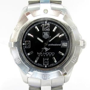 【中古】TAG Heuer  2000シリーズ エクスクルーシブ マウントフッド クオーツ デイト 文字盤ブラック メンズ腕時計 WN111F  タグホイヤー 【メンズ】【watch】|junglejungle