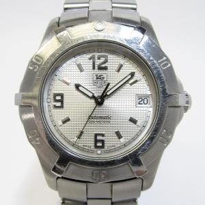 【中古】TAG Heuer 2000 エクスクルーシブ メンズ腕時計 SS AT シルバー文字盤 WN2110タグホイヤー オートマチック【メンズ】【watch】|junglejungle